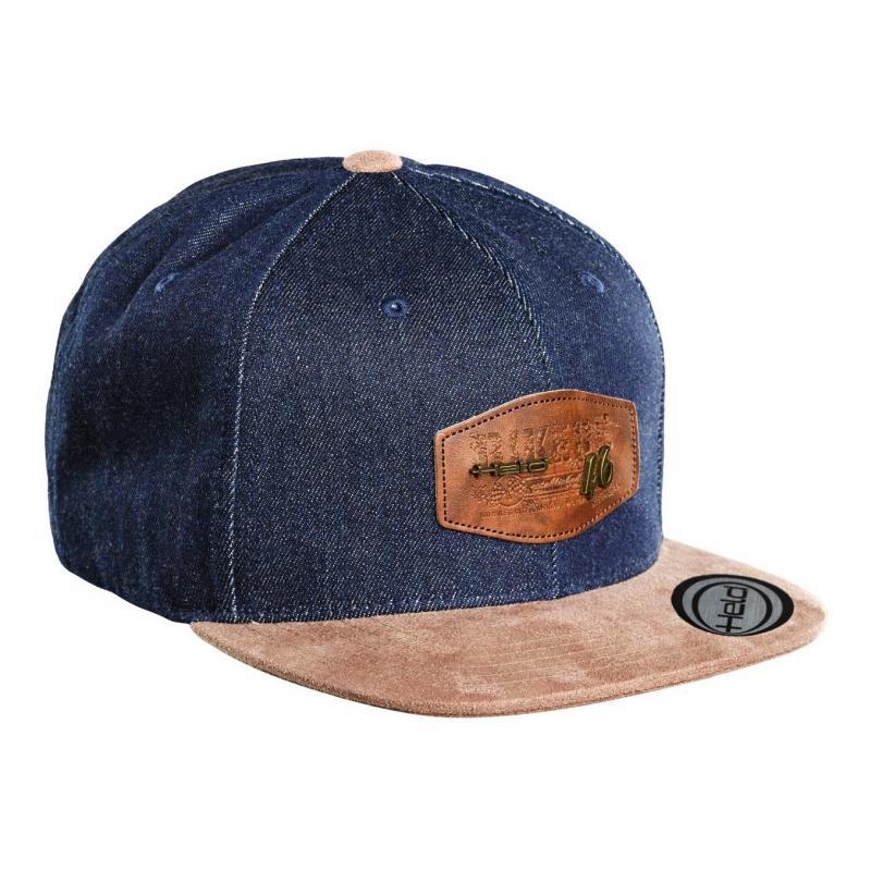 Casquette Held Cap 46 bleu/marron