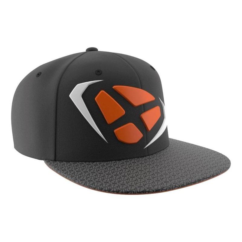Casquette Ixon Squad noir/orange