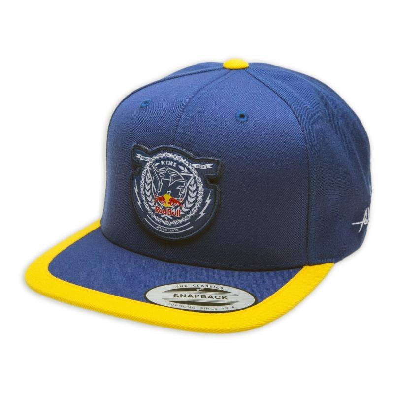 Casquette Kini Red Bull Crest bleu marine/jaune