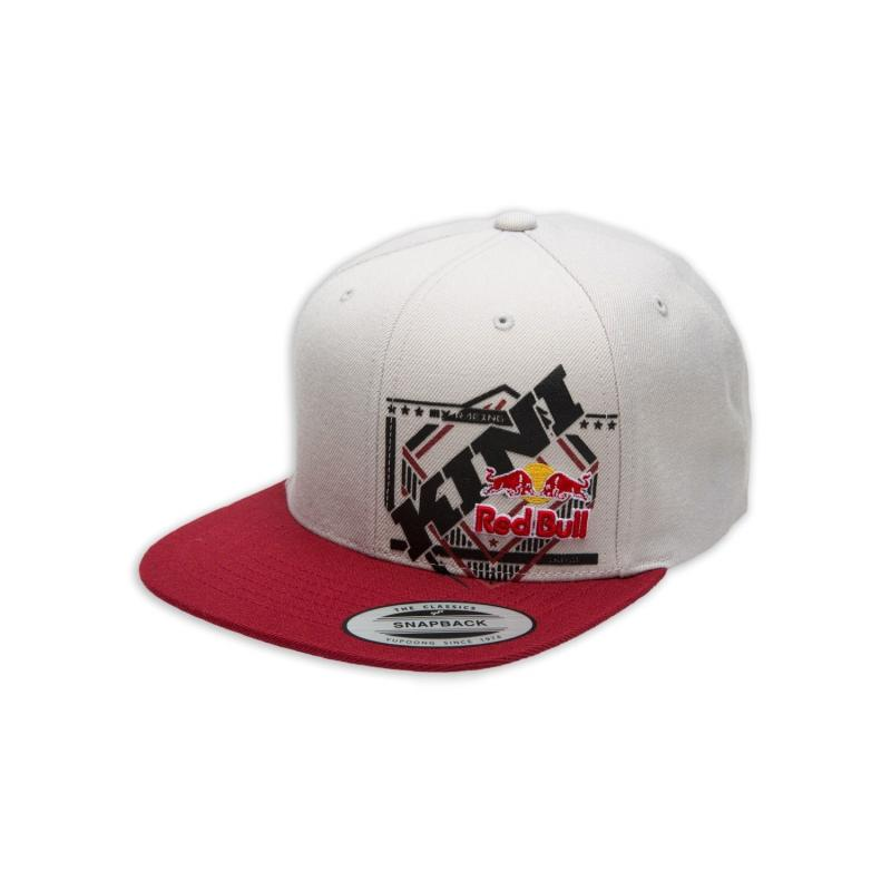 Casquette Kini Red Bull Slanted gris/rouge