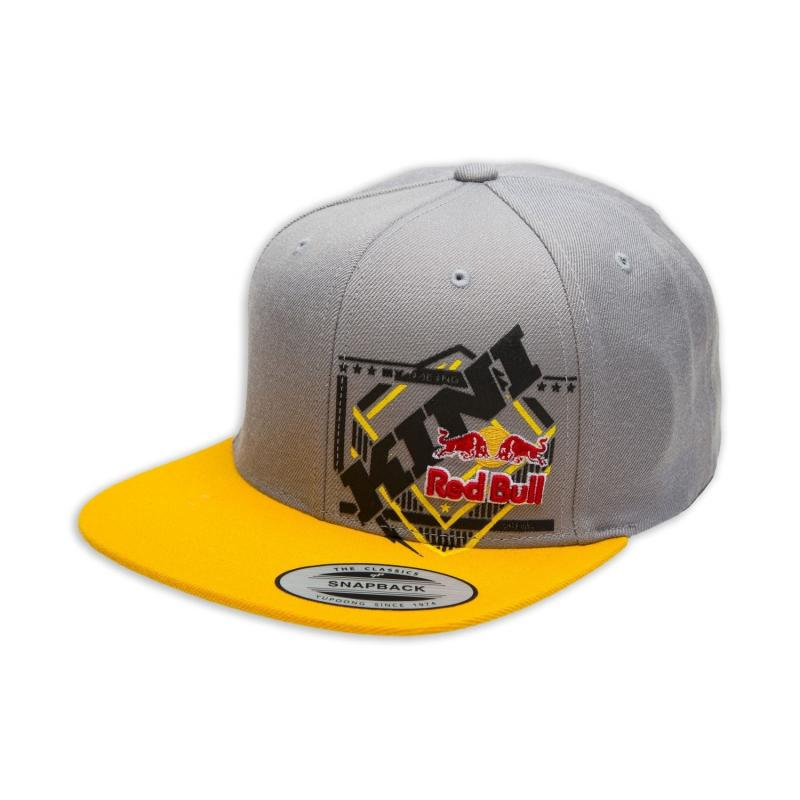 Casquette Kini Red Bull Slanted gris