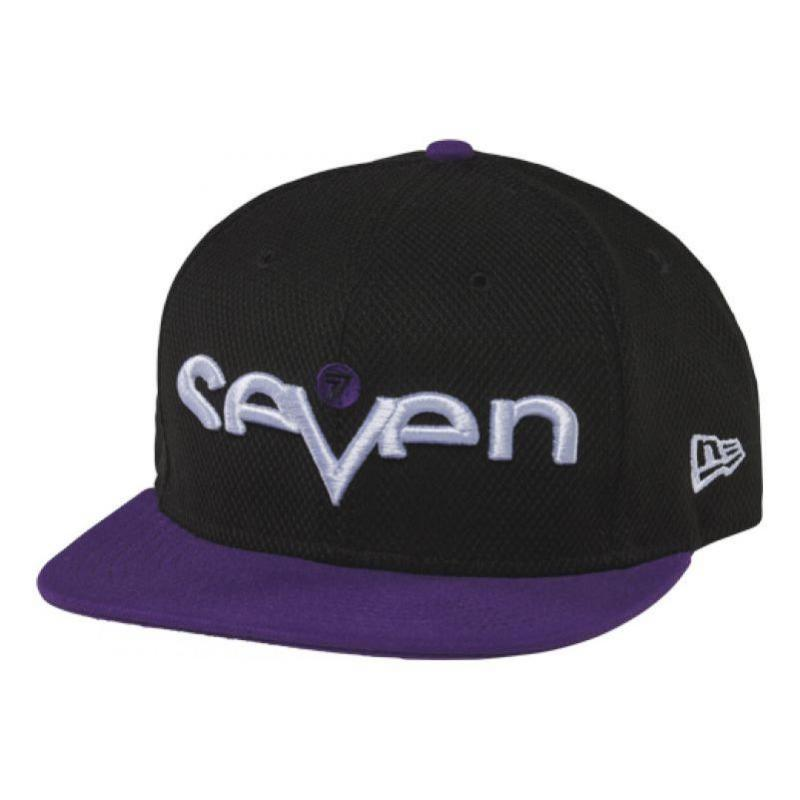 Casquette Seven Brand noir/violet