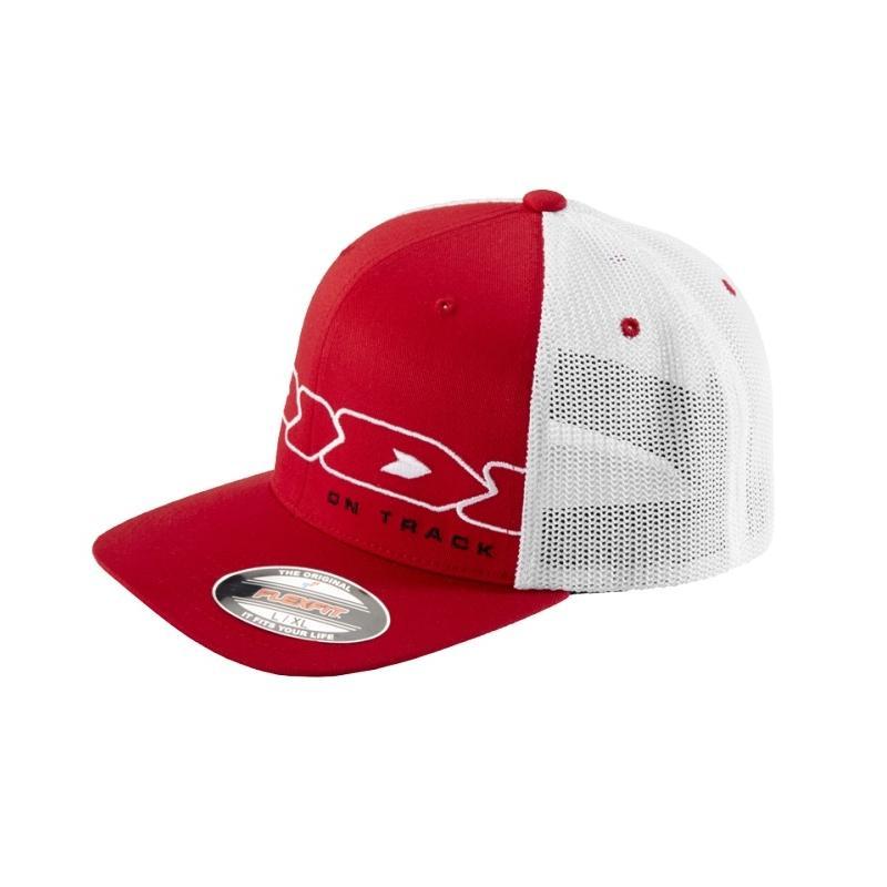 Casquette Spidi Netcap D01 rouge/blanc