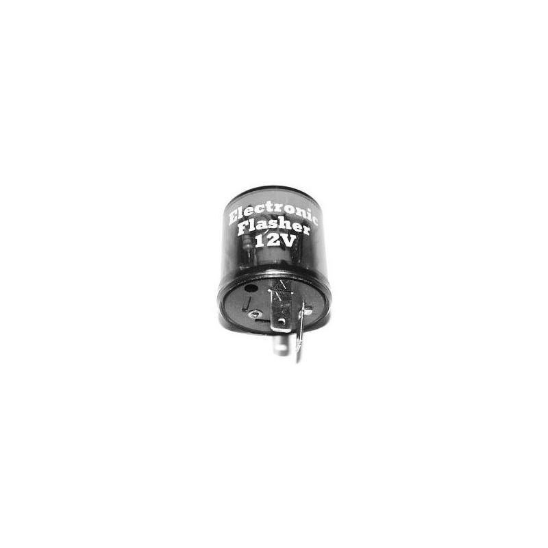Centrale clignotant universelle 12V / 240W 2 Broches avec support caoutchouc
