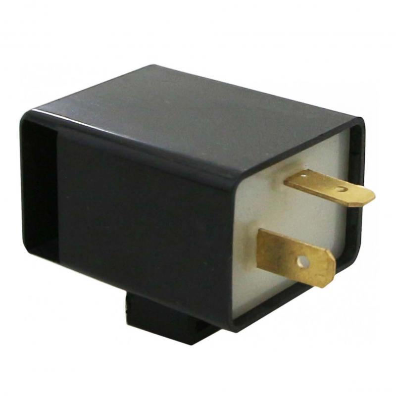 Centrale clignotante 12V 2x10W 2 fiches avec buzzer
