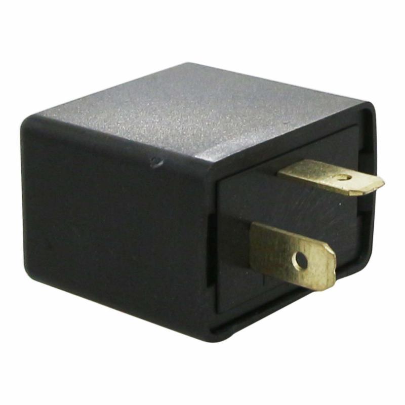 Centrale clignotante 12V 2x10W 2 fiches sans buzzer