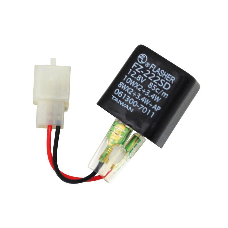 Centrale de clignotant universelle pour clignotants à LEDS 2 fils