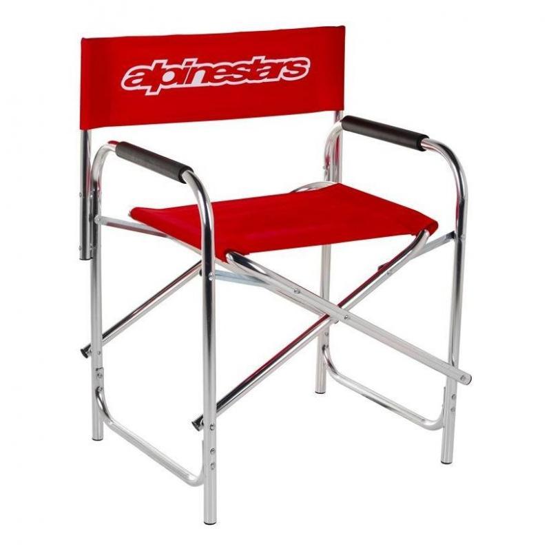 Chaise Alpinestars rouge