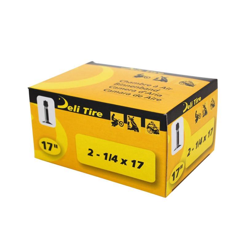 Chambre à Air 17 2 1/4x17 Vs Deli valve Droite
