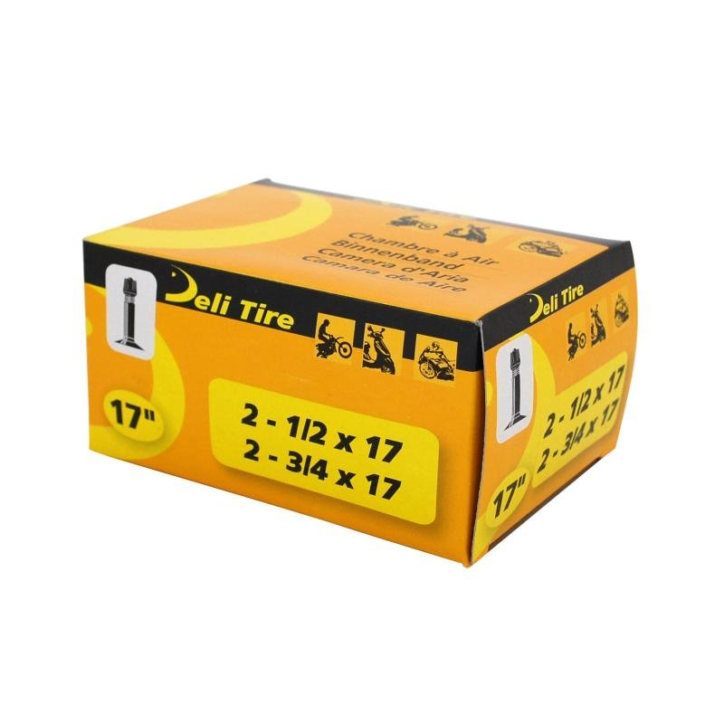 Chambre à Air 17 2 3/4x17 Vs Deli valve Droite