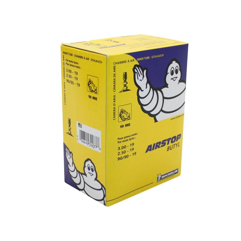 Chambre à air Michelin Street 90/90-19 valve droite TR4