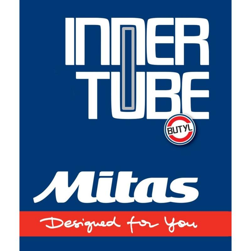 Chambre à air Mitas 120/90-19 valve TR6 Renforcée