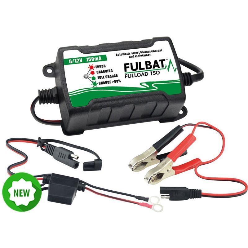 Chargeur de batterie Fulbat Fulload 750 6V - 12V 0,75A