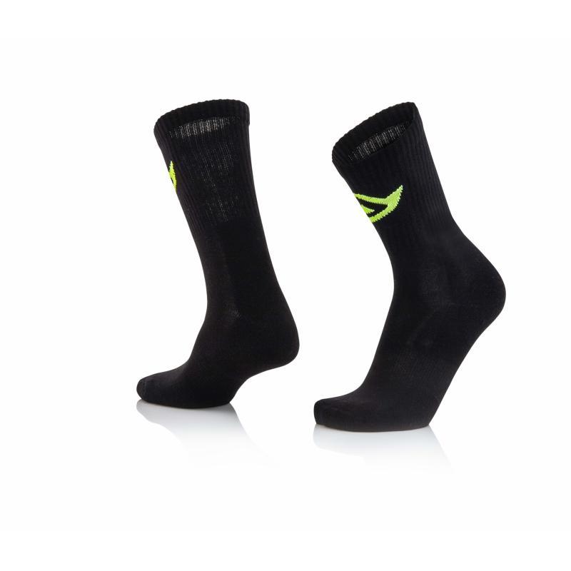 Chaussettes Acerbis en coton noires