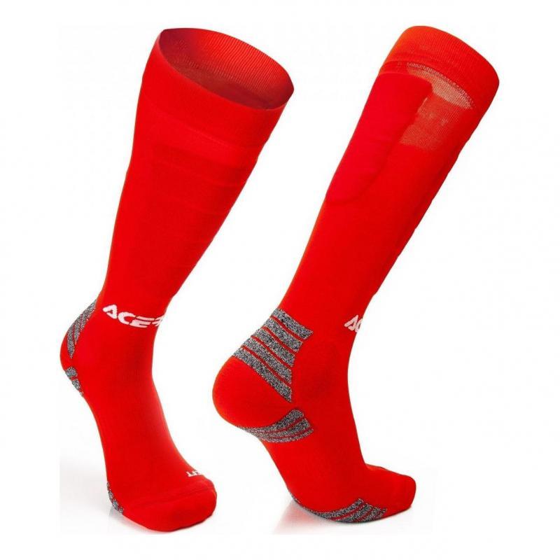 Chaussettes Acerbis MX Impact rouge
