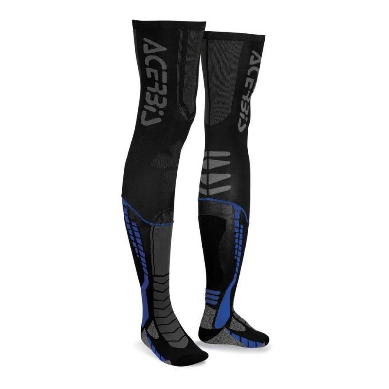 Chaussettes Acerbis X-Leg Pro noir/bleu