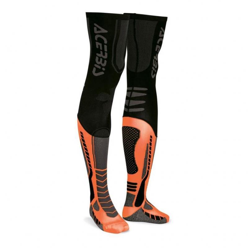 Chaussettes Acerbis X-Leg Pro noir/orange