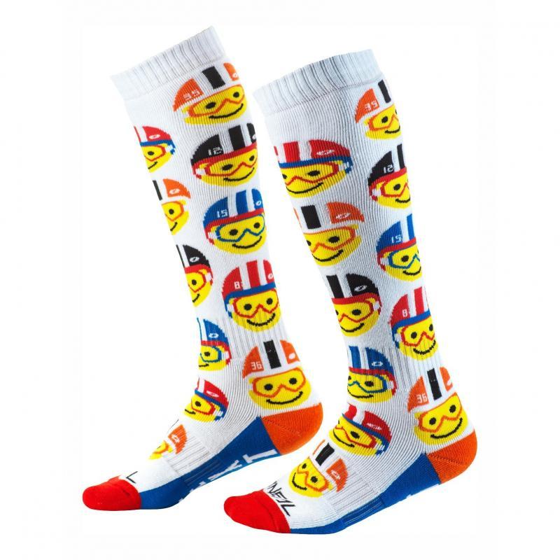 Chaussettes enfant O'Neal Pro Emoji Racer multicolore