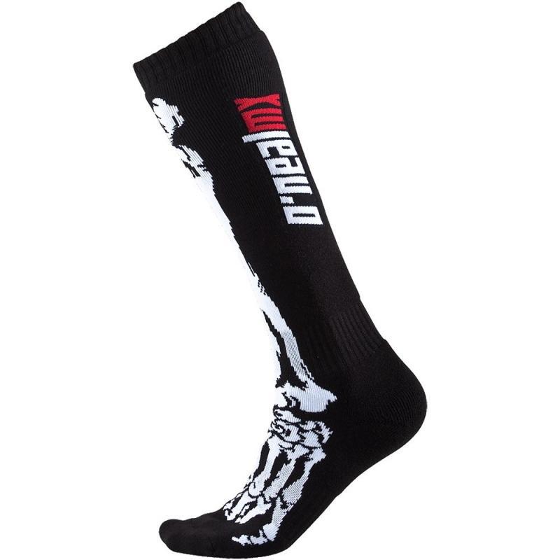 Chaussettes enfant O'Neal Pro MX X-Ray noir/blanc