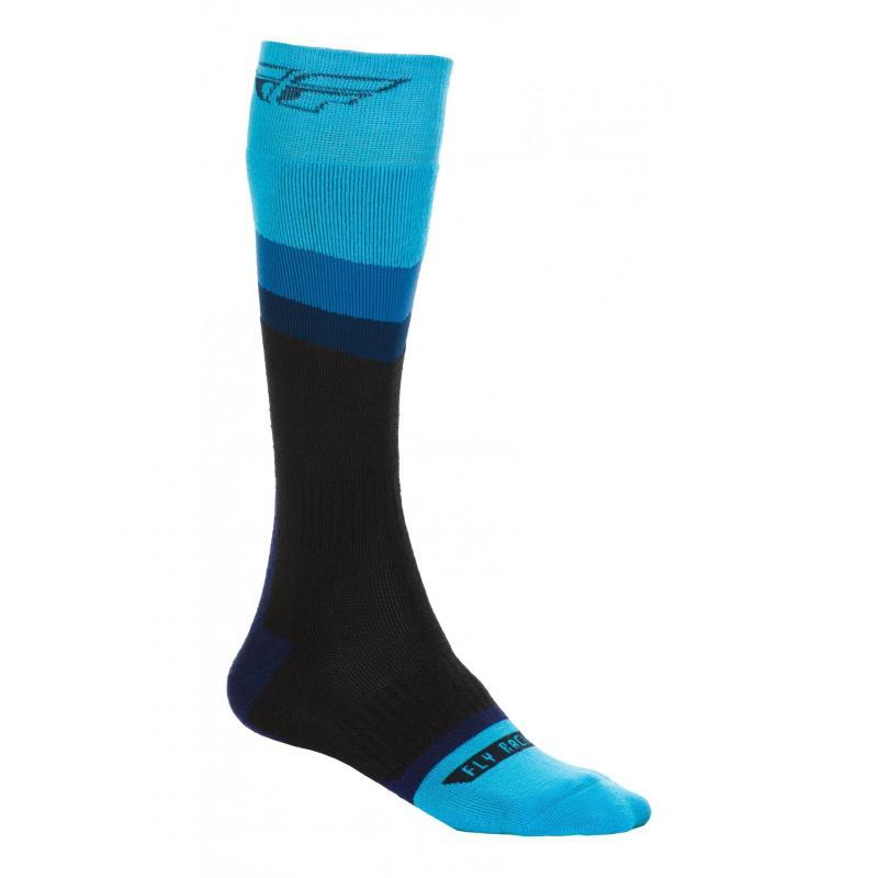 Chaussettes Fly Racing MX Socks Thick bleu/noir