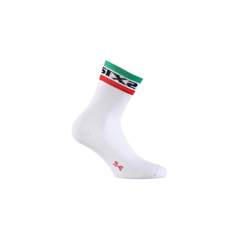 Chaussettes Sixs Short S blanche Italie