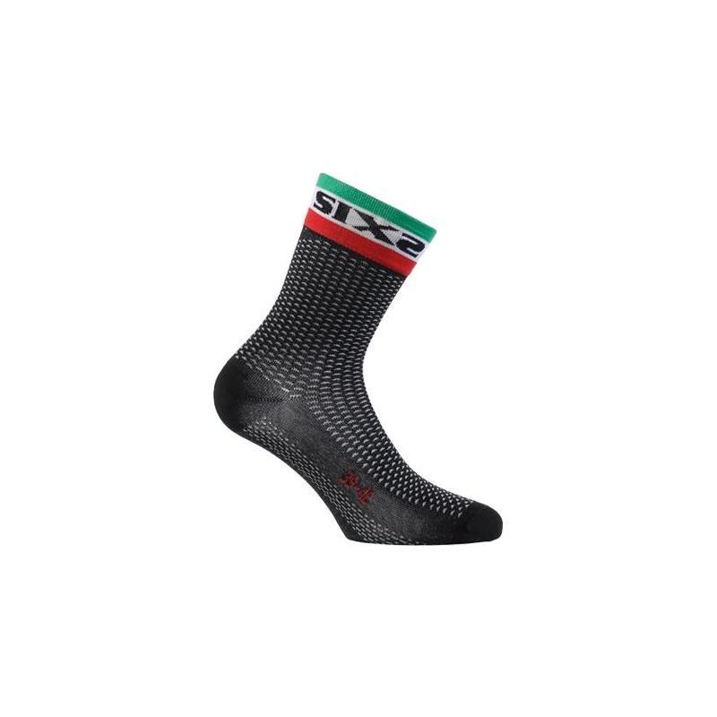 Chaussettes Sixs Short S noire Italie
