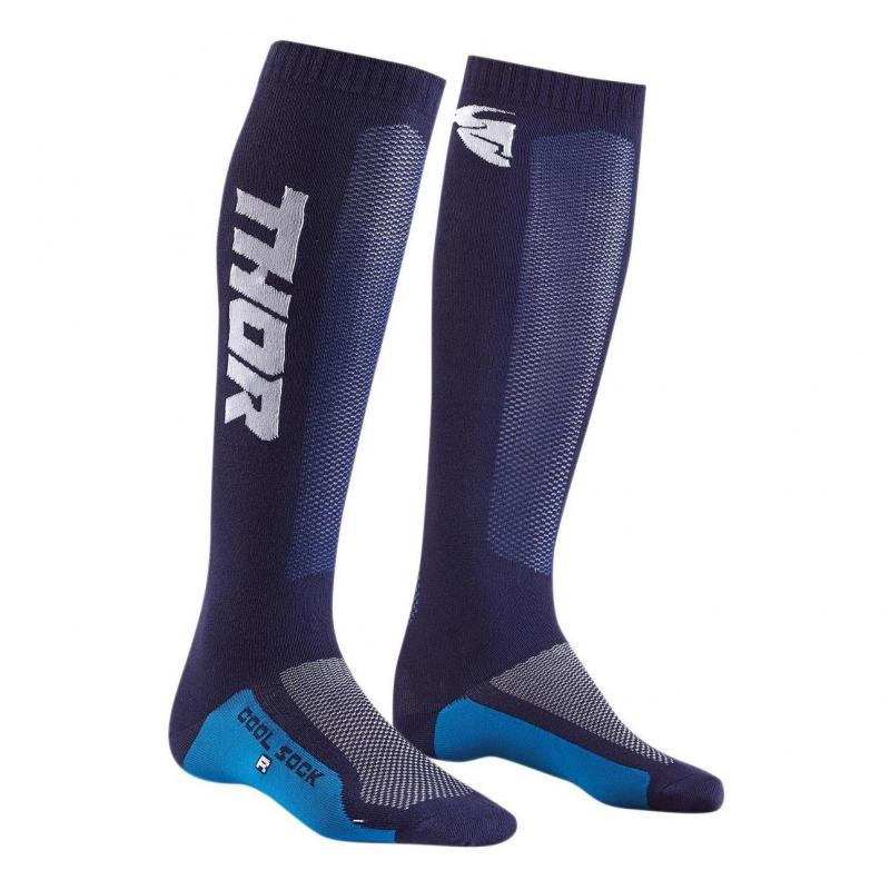 Chaussettes Thor MX Cool navy/blanc