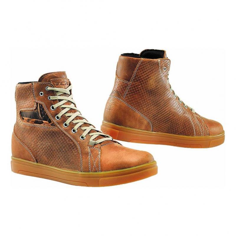 Chaussure cuir TCX Street Ace Air natice cuir marron