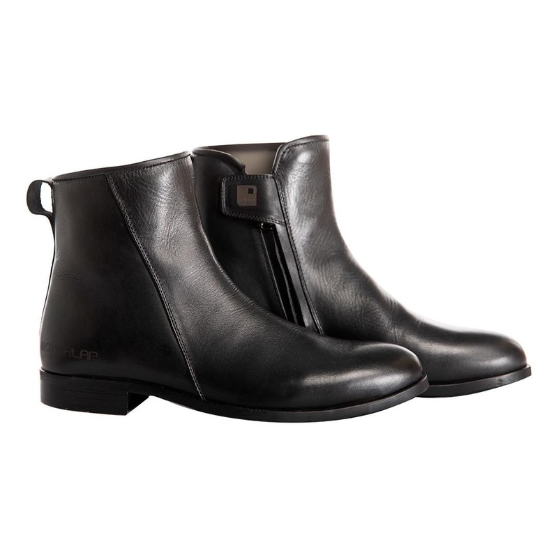 Chaussures cuir Overlap Liam noir