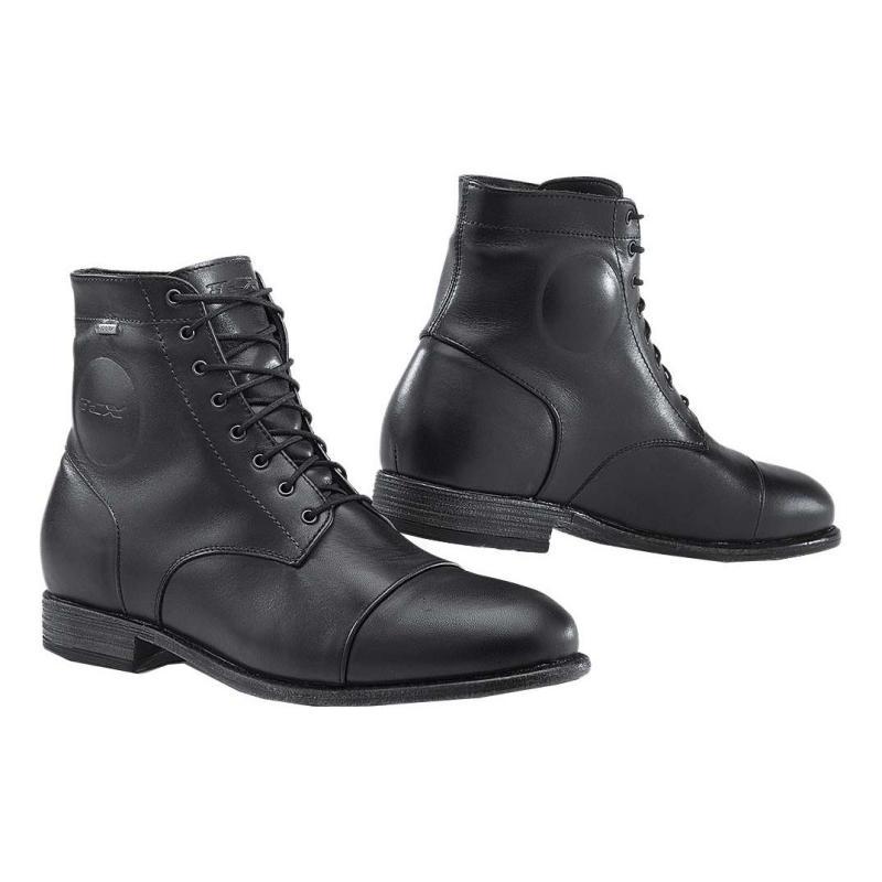 Chaussures cuir TCX Métropolitain Gore-Tex noir