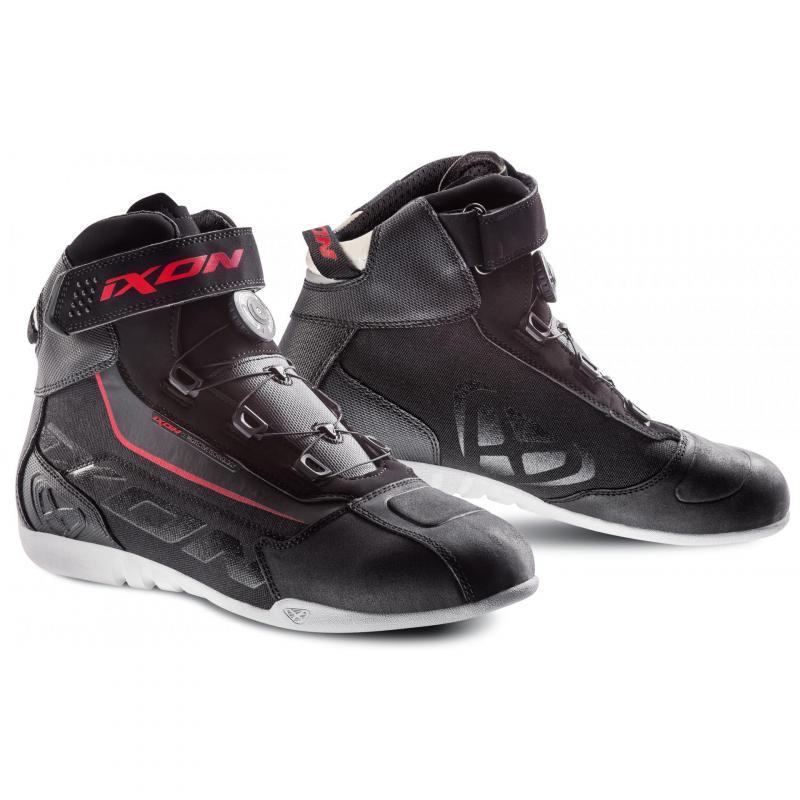 Chaussures Ixon Assault EVO noir/blanc/rouge