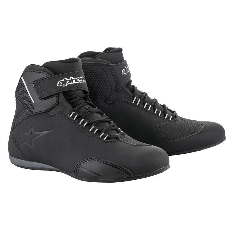 Chaussures moto Alpinestars Sektor Waterproof noir