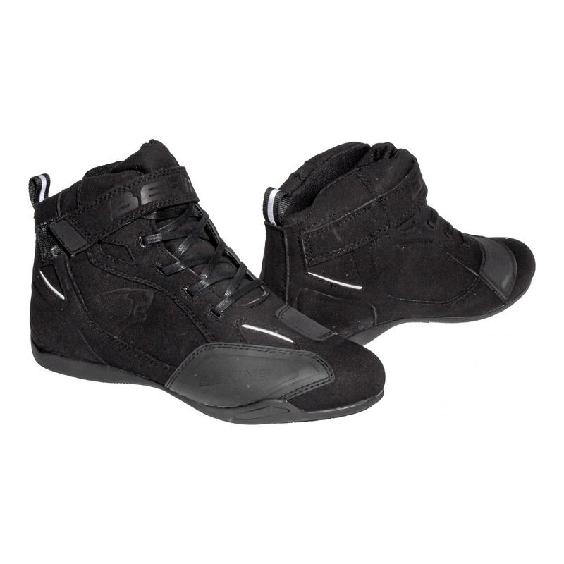 Chaussures moto Bering Corwell noir/blanc