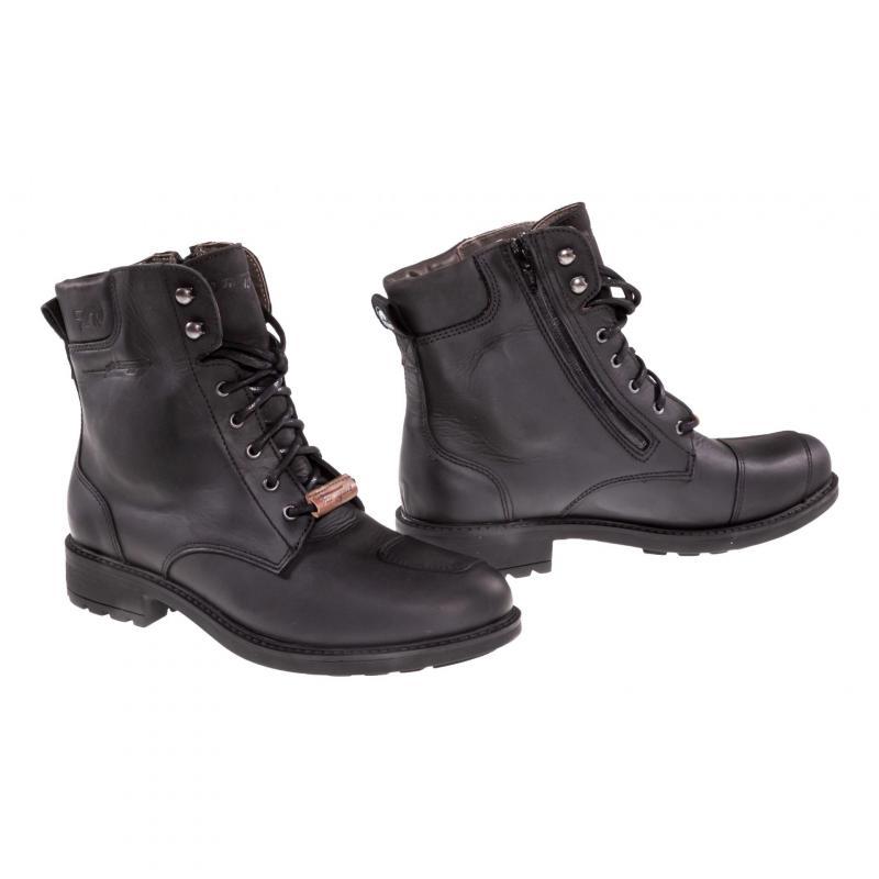 Chaussures moto Furygan Melbourne D3O WP noir