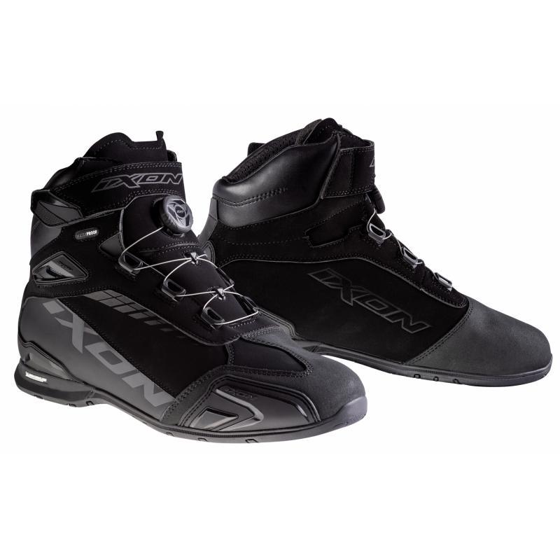 Chaussures moto Ixon WP noir Bull TKJ3cl1F