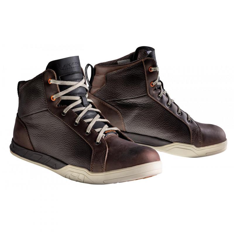 Chaussures moto Ixon Rogue Star marron