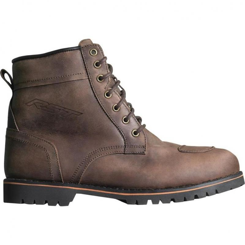 Chaussures moto RST Roadster II WP CE Vintage marron