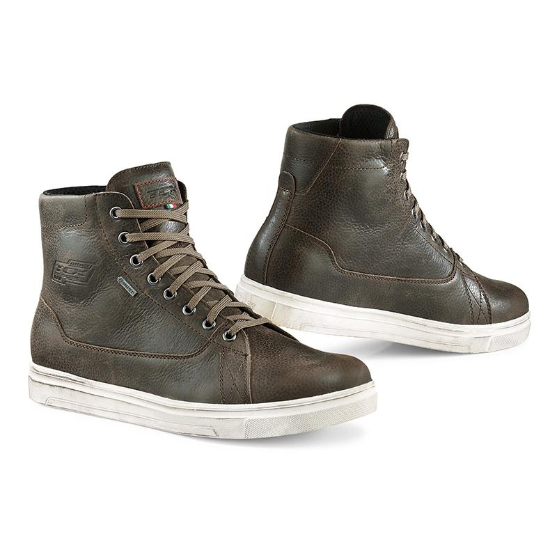 Chaussures moto TCX Mood Gore-Tex marron