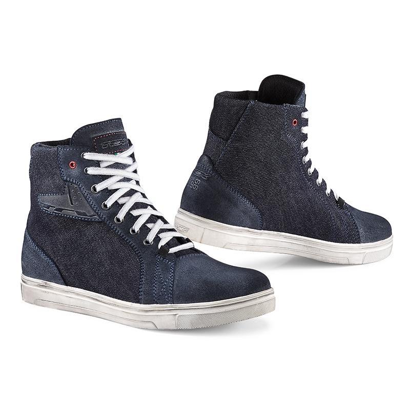 Chaussures moto TCX Street Ace Denim bleu