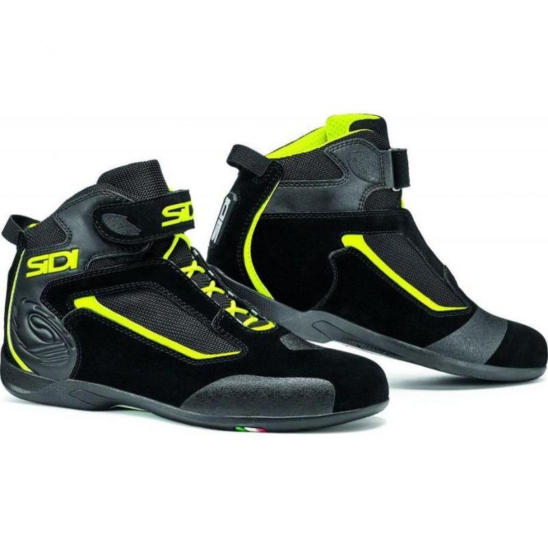 Chaussures Sidi Gas noires/jaunes