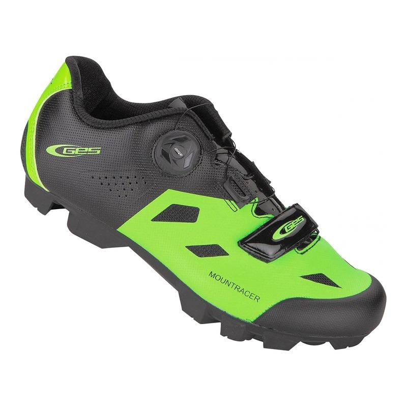 Chaussures VTT GES Mountracer vert/noir