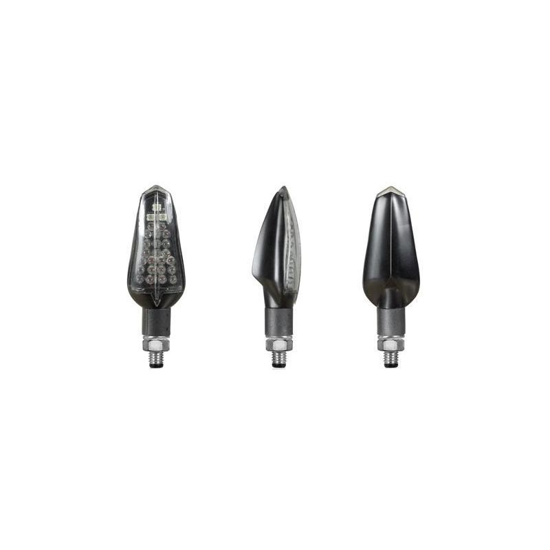 Clignotants LED feux de position avant Chaft Fresh noir/transparent