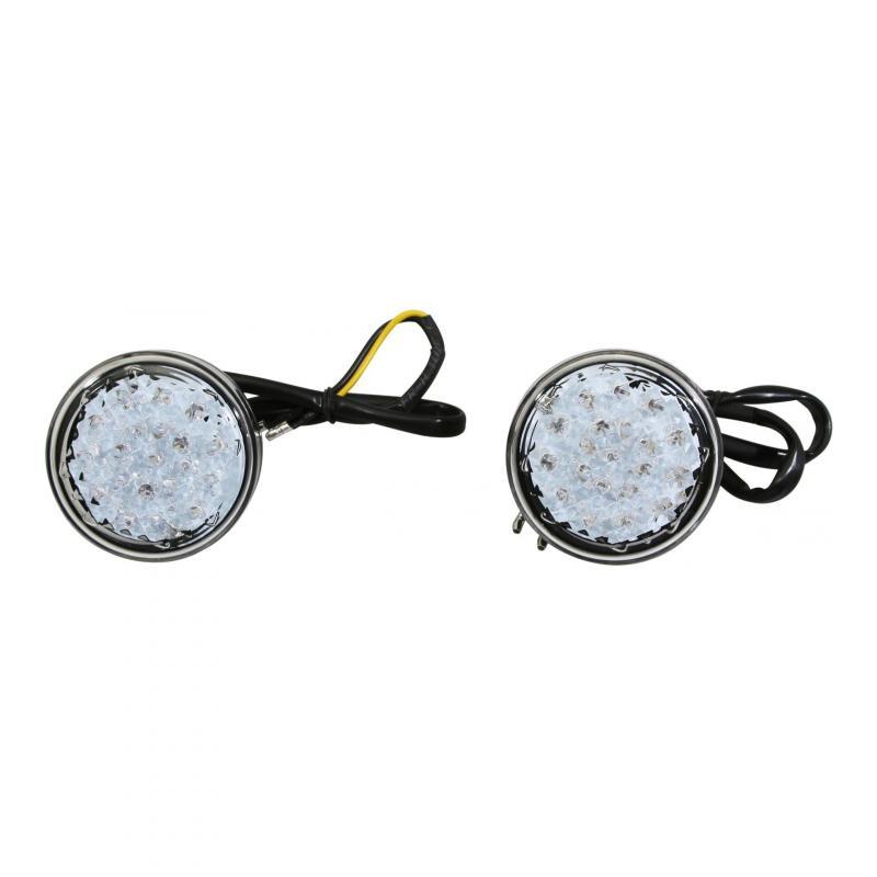 Clignotants LED Avoc Mino noir / transparent