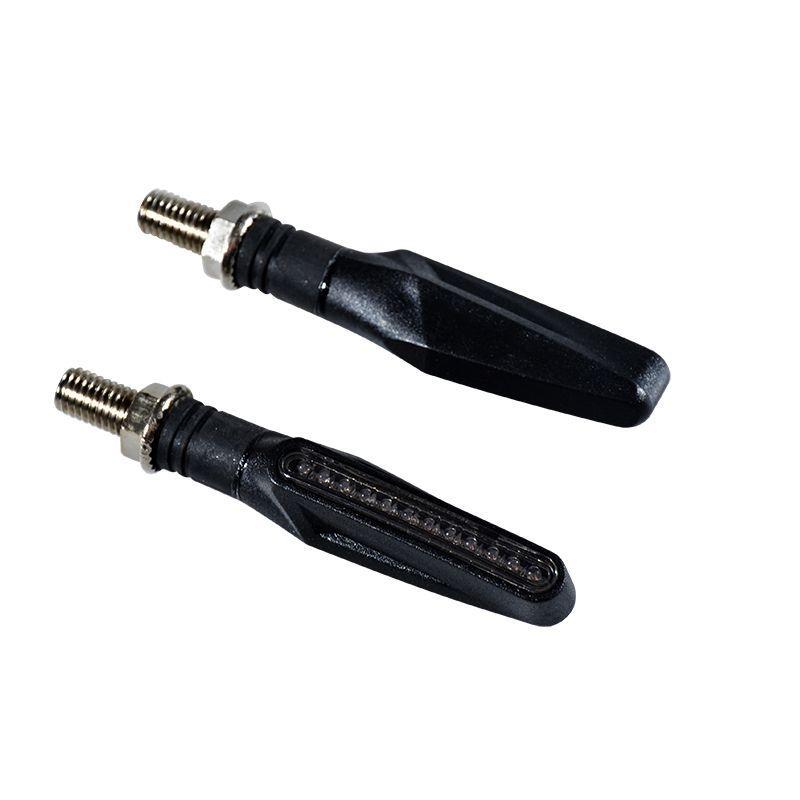 Clignotants LED Smogg noir fumé (paire)