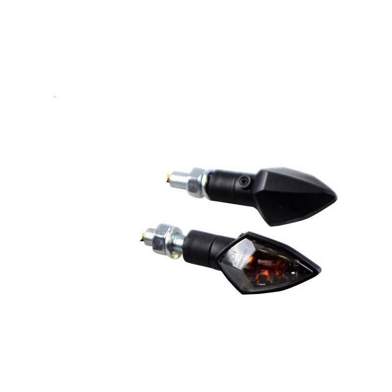 Clignotants Rubis noir/fumé (paire)