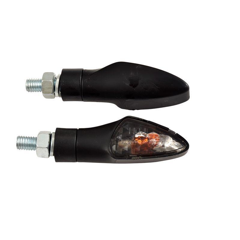 Clignotants Tun'R blinker noir rubber/fume à ampoule