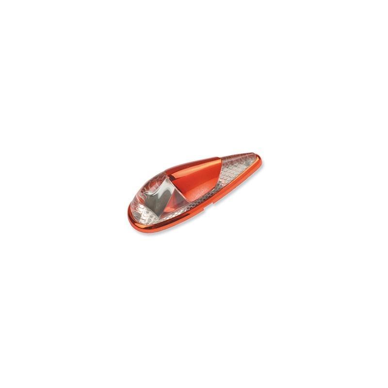 Clignotants Vicma goutte tuning rouge lumière ambrée (paire)