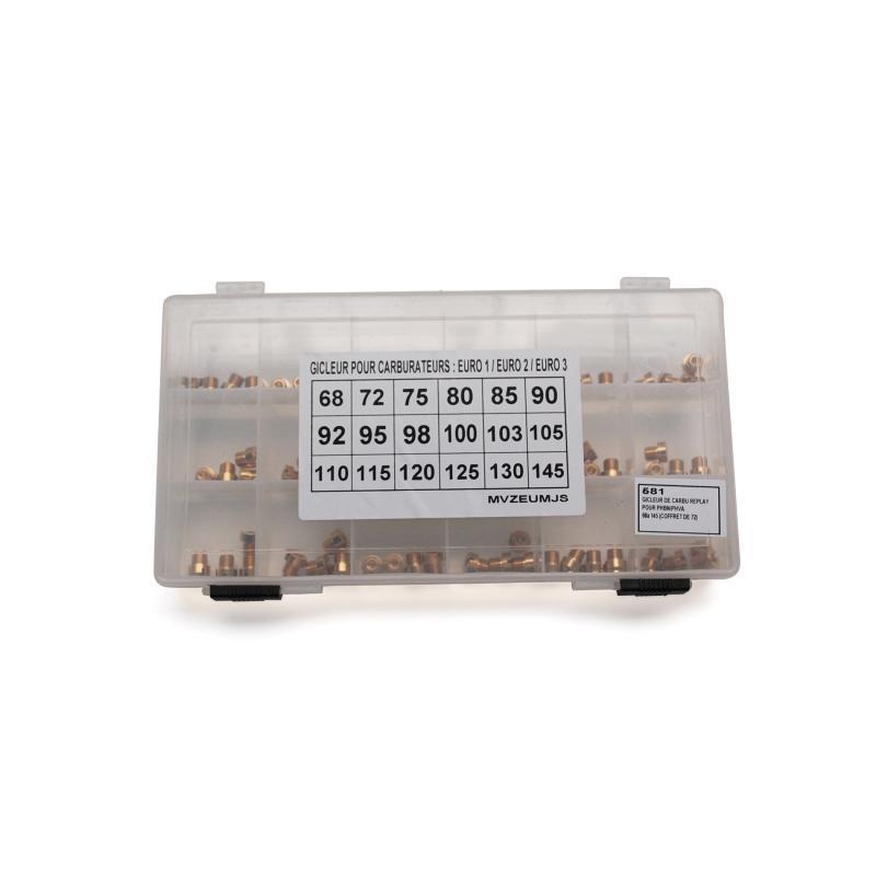 Coffret de 72 gicleurs principaux PHBN/PHVA 68 à 145