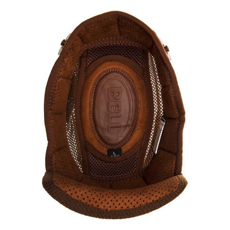 Coiffe de casque Bell Bullitt New Fit brun