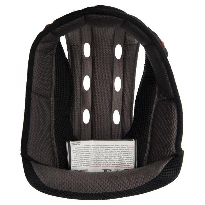 Coiffe de casque pour Bell MX 9 noir